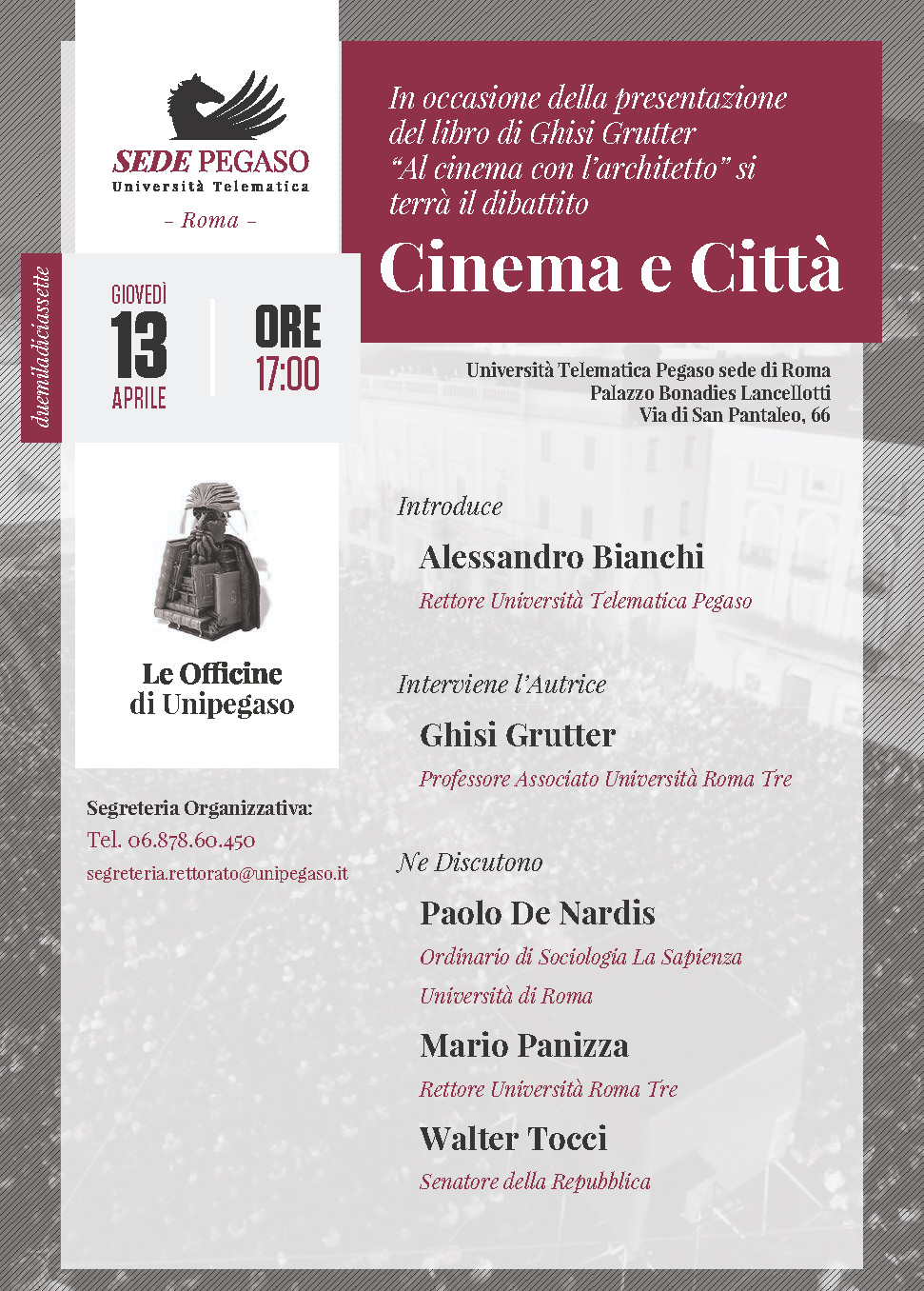 Cinema e Città | UniPegaso