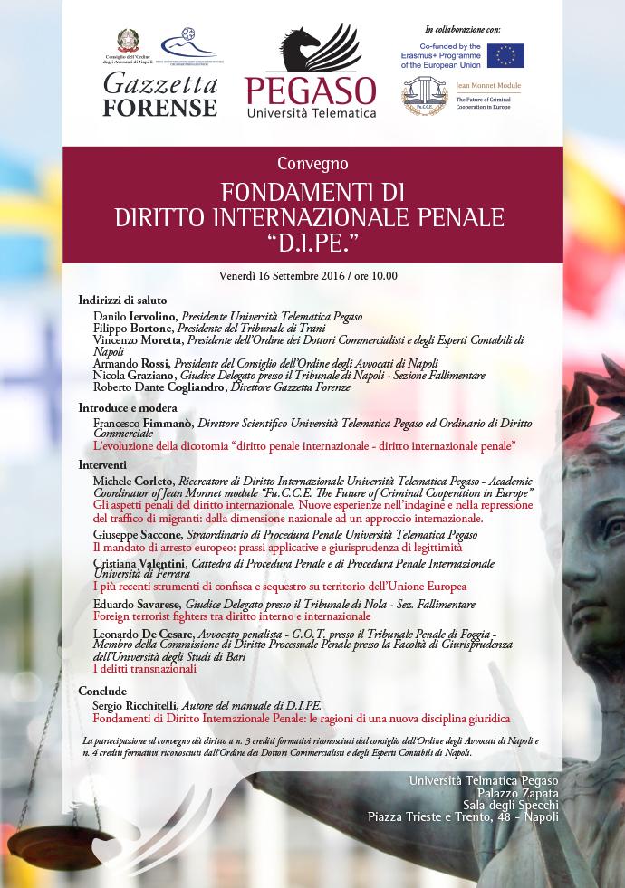 Fondamenti di diritto internazionale penale D.I.Pe ...