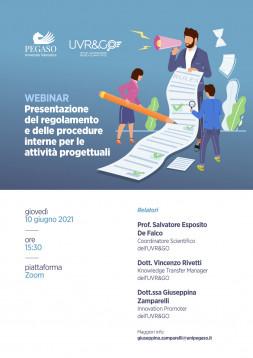 Presentazione del regolamento e delle procedure interne per le...